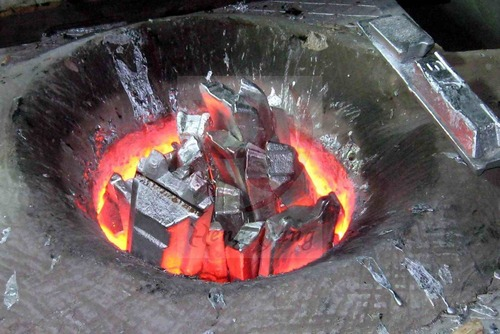 1 5t Steel Scrap Melting Induction Furnace In Nanhai