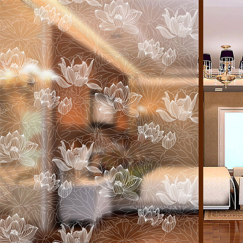 5812mm Etched Designer Glass For House Decoration in Baiyun