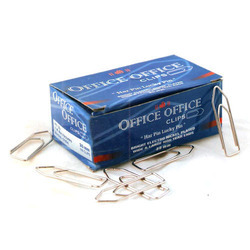 35 Mm Stremline Bright Electro Nickel Plated Paper Clips