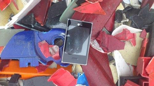 Industrial Waste Plastic Scraps