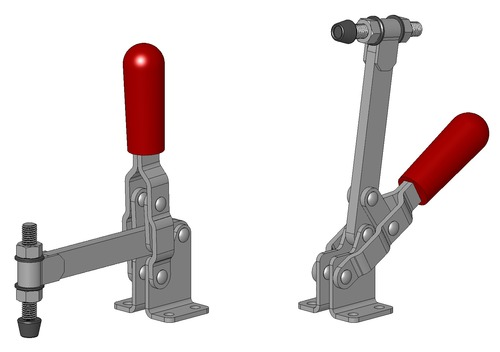 Vertical Lever Press : Toggle clamps in siyaganj indore