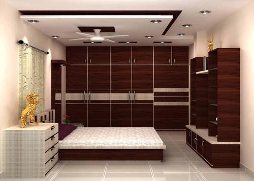 Sleeping Room Interior. Sleeping Room Interior in Rajdanga  Kolkata  West Bengal  India
