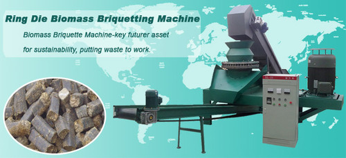 Ring Die Biomass Briquetting Machine