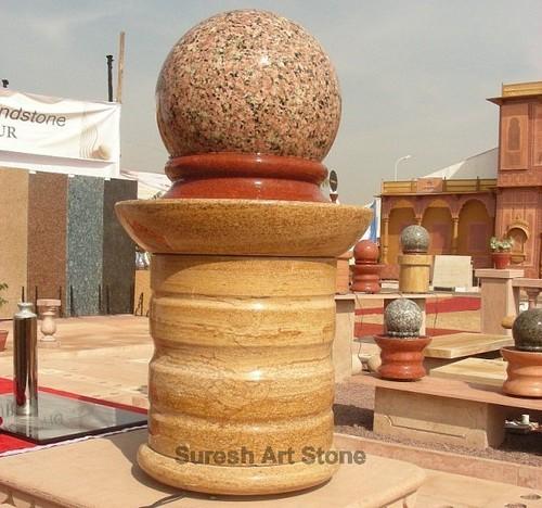 Ball Fountain in  Mandore