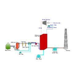 Biomass Gas and Pulverized Coal Combustion Power Plant
