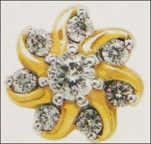 Fancy Diamond Nose Pin