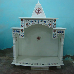 Mesmerizing Design Marble Temple in Ghitorni, New Delhi - Manufacturer