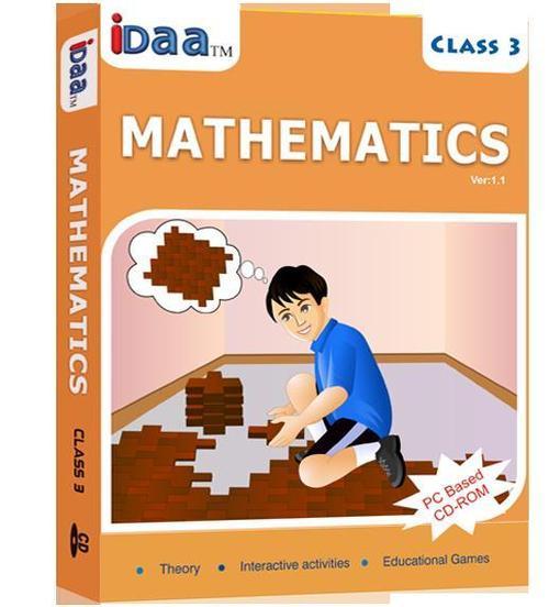 CBSE Class 3 Mathematics Educational CD