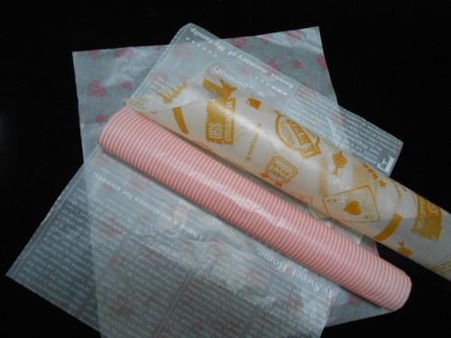 Customized Wax Paper