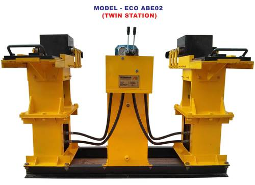 Fly Ash Brick Machine (ECO ABE-02)
