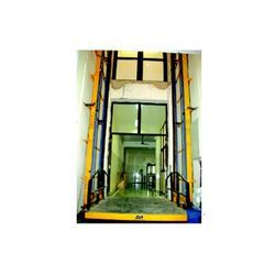 Wall Mounted Hydraulic Platform Stacker in  2-Sector