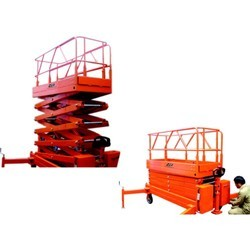 Hydraulic Scissor Lifting Machine in  2-Sector
