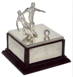 Silver Football Trophy