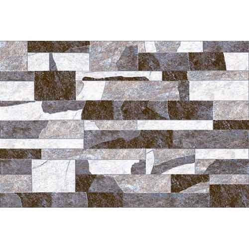 Stone Elevation Tiles : Smooth texture designer elevation tiles in opp sona