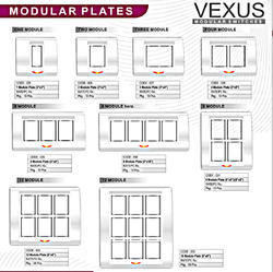 Electrical Switch Plates Modular Electrical Switch Plates In Delhi Delhi  Harish Electricals