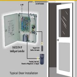 Door Access Control Diagram