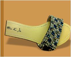Party Wear Ladies Beaded Sandal