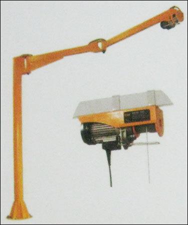Column Mounted Articulating Jib Cranes