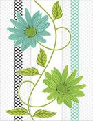 Latest Flower Design Wall Tiles in   Dist.Rajkot