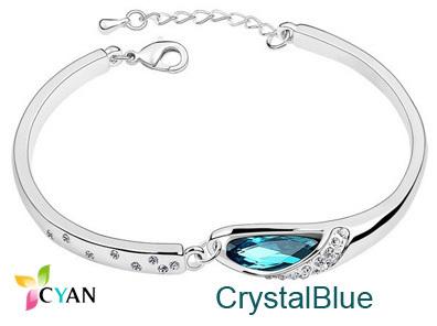 Austrian Crystal Charming Bracelet