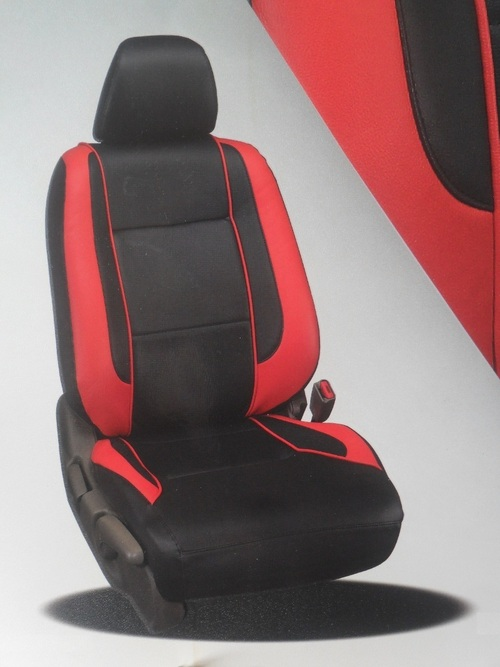 red and black car seat in new delhi delhi s r car seat cover. Black Bedroom Furniture Sets. Home Design Ideas