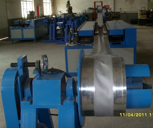 Flexible Duct Connector Forming Machine In Shanghai