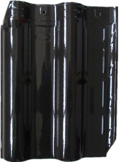 Black Color Ceramic Roof Tiles