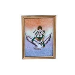 Ganesha Gem Stone Painting