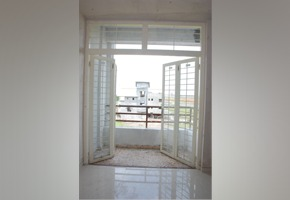 Balcony Door With Top Ventilator