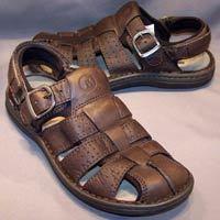Men Designer Leather Sandal
