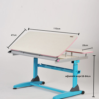 Height Adjustable Ergonomic Study Table