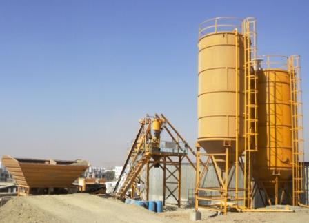 Industrial Mobile Batching Plant
