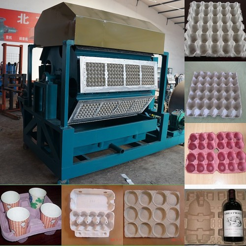 Waste paper egg tray making machine in shijiazhuang for How to make paper egg trays