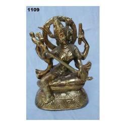 God Saraswati Metal Statues