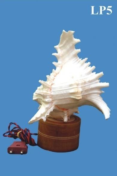 Seashell Craft Table Lamp