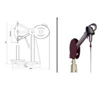 Hydraulic Linear Swing Type Honing Machine