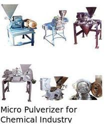 Micro Pulverisers For Chemical Industry