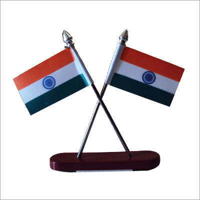 Table Top Showpiece Flag