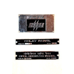 Etching Brass Name Plates