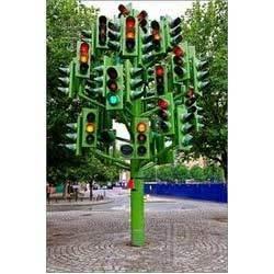 Traffic Lighting Poles in  Sarkhej