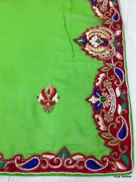Hand embroidery sarees in park street kolkata manufacturer