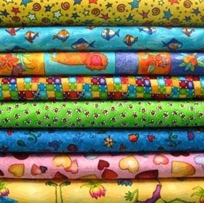 Polyester Printed Fabric in  Sant Kabir Road