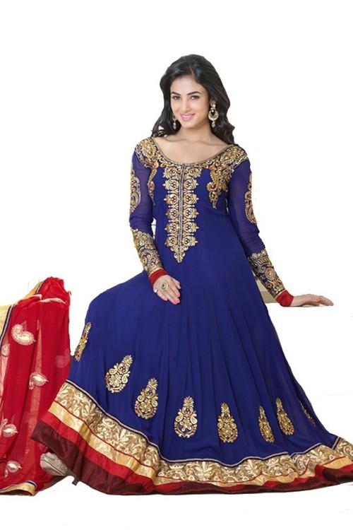 Indian Bollywood Anarkali Slawar Kameez
