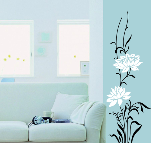 Flower Paradiso Designer Wall Sticker in Hebbal Bengaluru