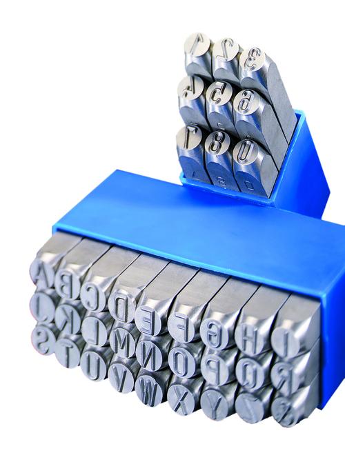 Number Punch Set (GRAVUREM-T 0-9) (Depth Control) in  Kenkhauser Str. 6-8
