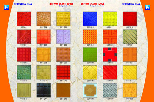 Corrosion Resistance Chequered Tiles Moulds in  Mayapuri - Ii
