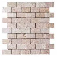 Brick Pattern Mosaic Stone