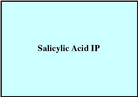 Salicylic Acid IP