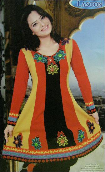 Woolen Designer Kurtis