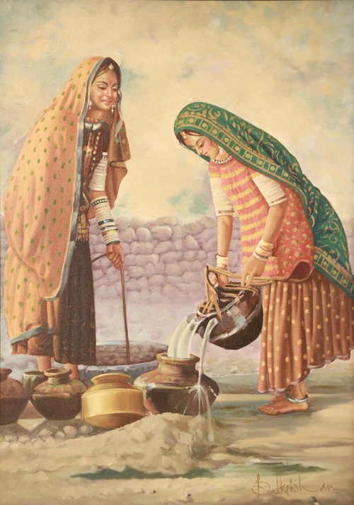 Original Indian Oil Painting in  19-Sector - Dwarka